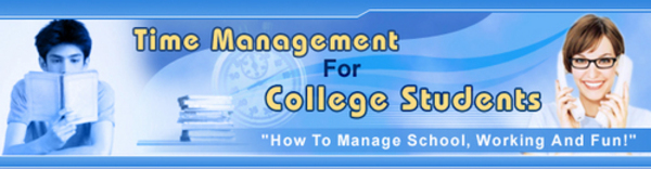 Product picture Time Management For College Students 5 Day Ecourse