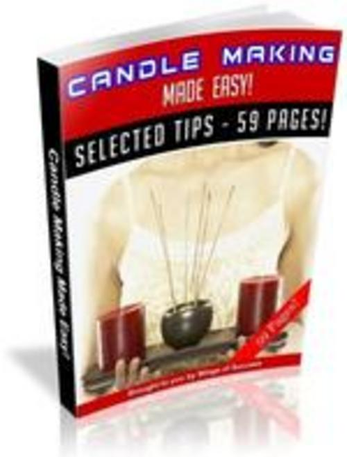 Product picture Candlemaking Made Easy