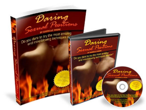 Product picture Daring Sexual Positions Audio And Ebook